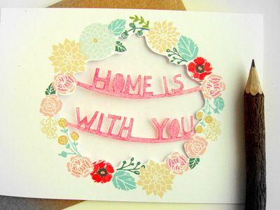 Delaney Gates Blog Home Papercut Card