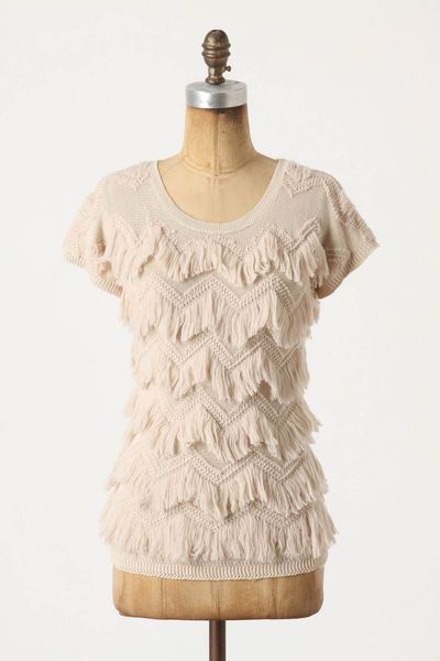 Delaney gates blog source 02062012 anthropologie chevron fringe sweater