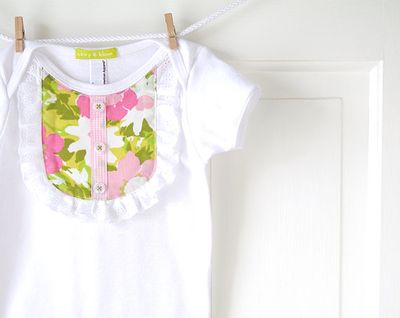 Chirp and Bloom Baby Onesie