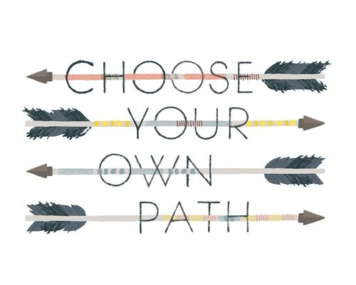Delaney Gates Blog Choose Your Own Path