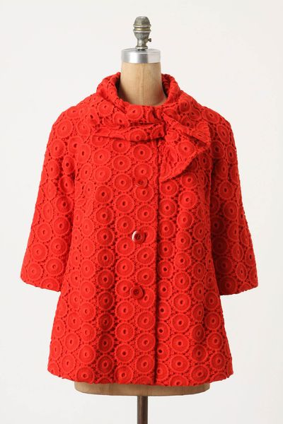 Delaney gates blog source 02062012 anthropologie red jacket