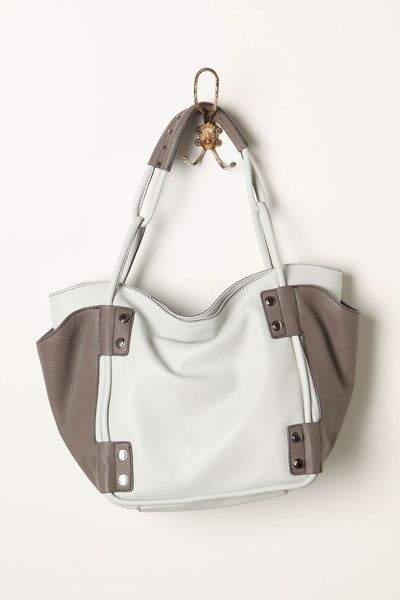Delaney gates blog source 02062012 anthropologie tinsley satchel grey white