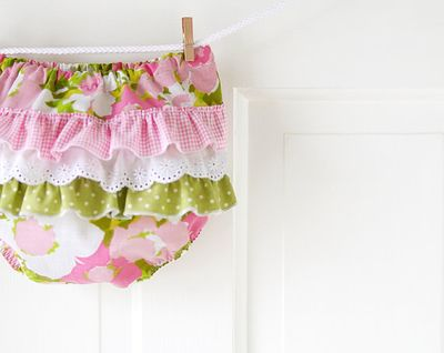 Chirp and Bloom Baby Ruffle Bloomers